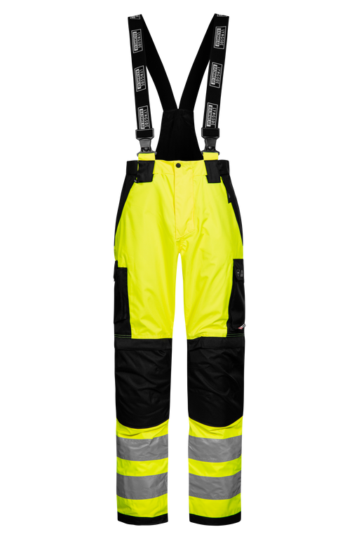 LYNGSOE HI VIS BREATHABLE WINDFARM TROUSERS