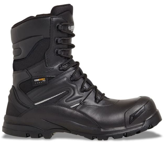 Apache Combat Safety Boot Black