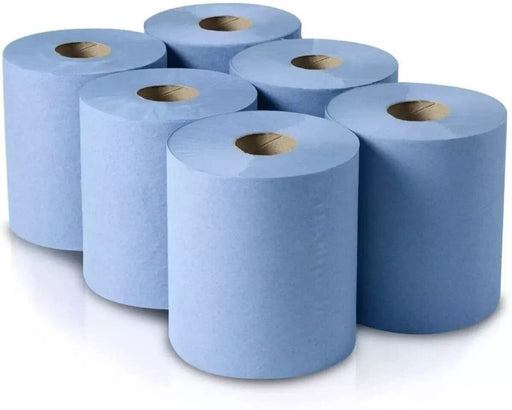 Premium 2 Ply Centrefeed Blue Roll Hand Towels