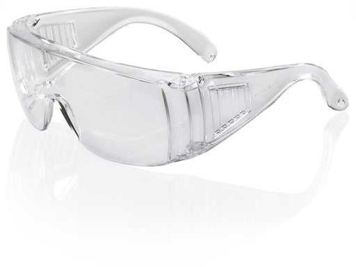 B-Brand Boston Clear Visitors Safety Glasses