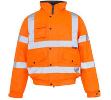 Load image into Gallery viewer, Supertouch High Visibility Storm Bomber Jacket