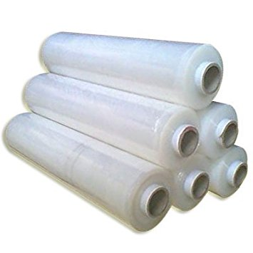 Clear Hand Held Pallet Wrap 500mm (Box of 6)