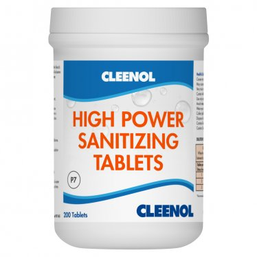 High Power Sanitizing Tablets x200