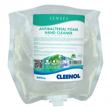 Cleenol Senses Anti Bac Foam Hand Cleaner 800ml