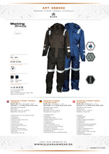 Load image into Gallery viewer, Elka Working Extreme Thermal Coverall 088002