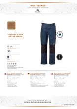 Load image into Gallery viewer, Elka Workwear Denim Trousers