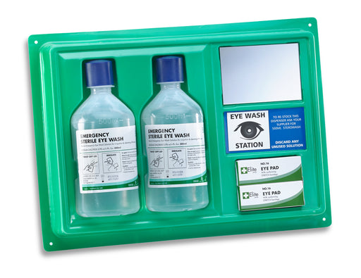 Eye Wash Station with x2 500ml Bottles