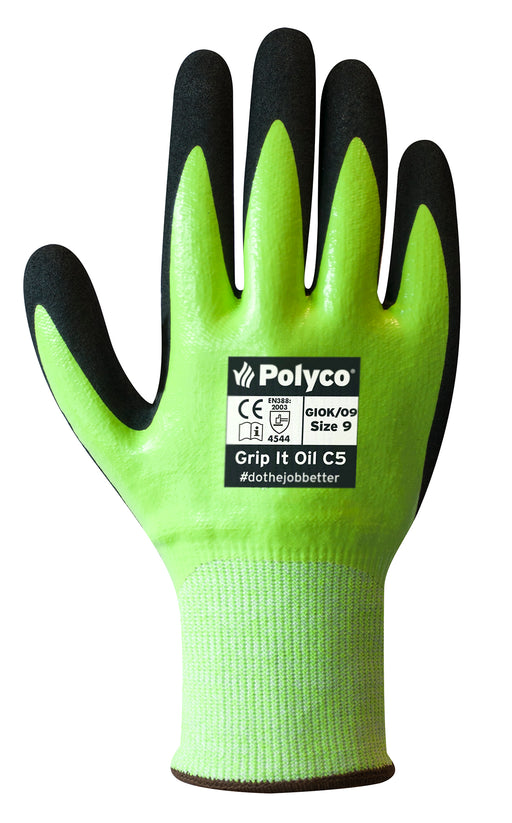 Polyco Grip it Oil C5 Glove