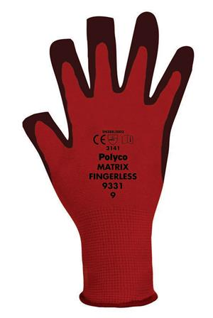 Polyco Matrix Fingerless Gloves