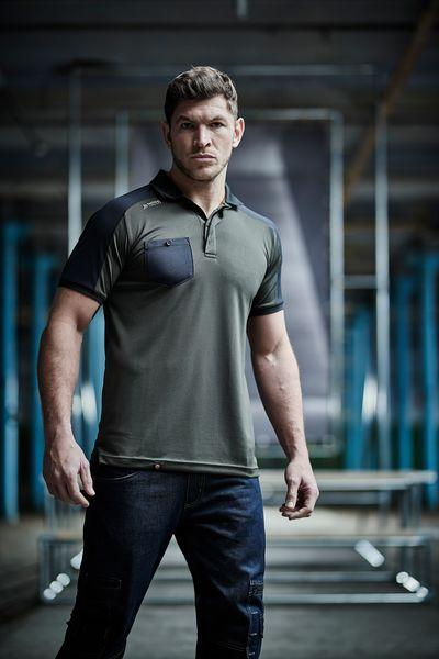 TACTICAL THREADS OFFENSIVE POLO WORKWEAR
