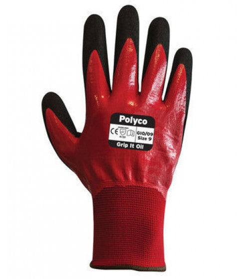 Polyco Grip it Oil Glove