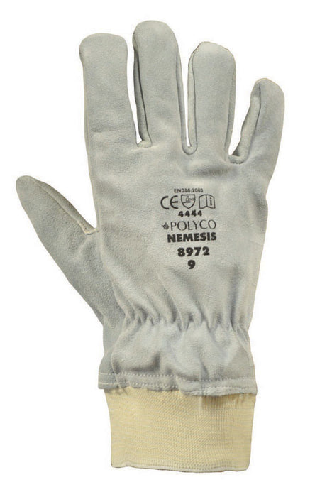 Polyco Nemesis Leather Glove