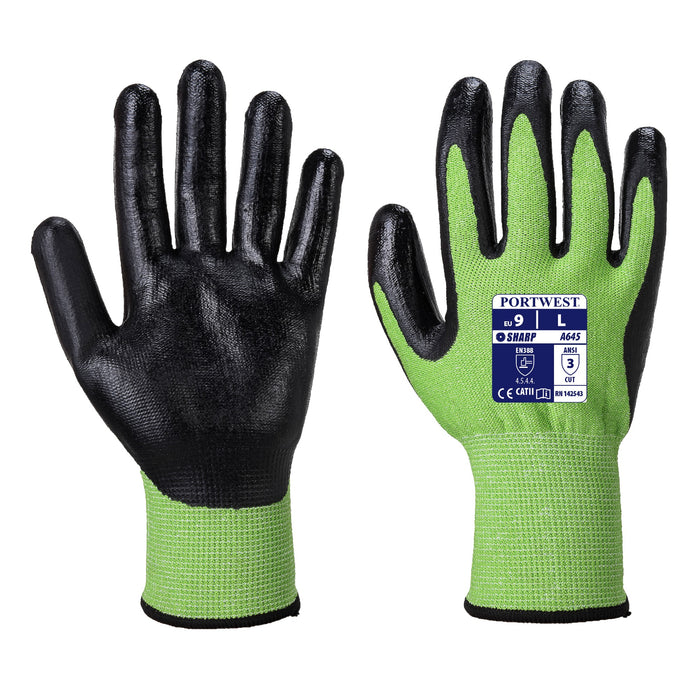 Portwest A645 Green Cut 5 glove