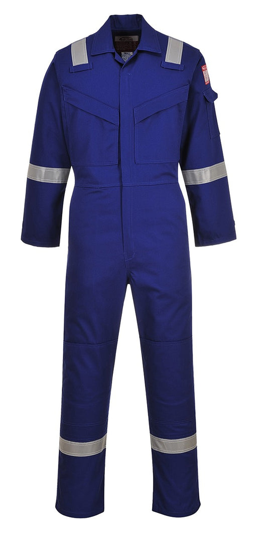 Portwest FR50 Flame Retardant Anti Static Coverall Navy