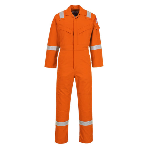 Portwest FR50 Flame Retardant Anti Static Coverall Orange