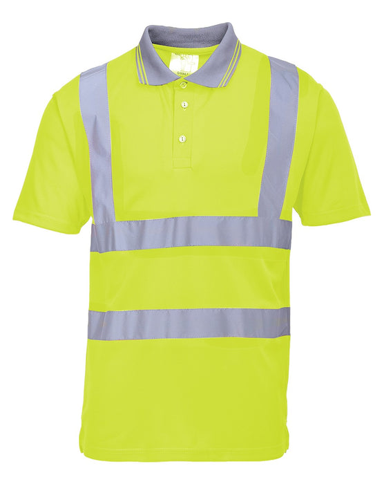 Portwest High Visibilty Polo Shirt
