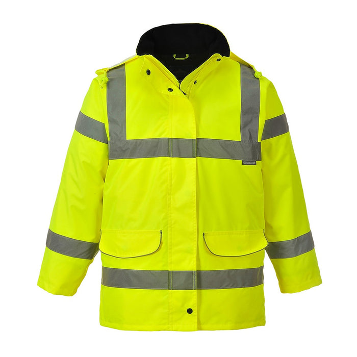 Portwest S360 Ladies High Visibility Traffic Jacket Yellow