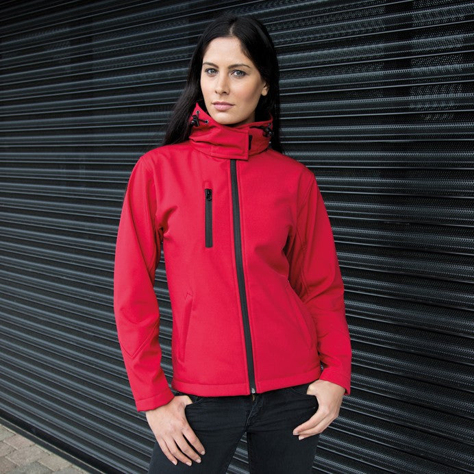 Result Core TX Performance Ladies Hooded Soft Shell Jacket