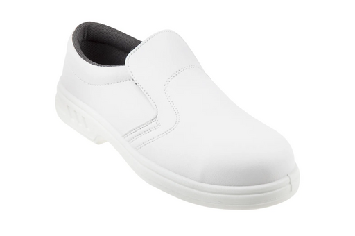 Shoes For Crews Luigi White Safety Shoes