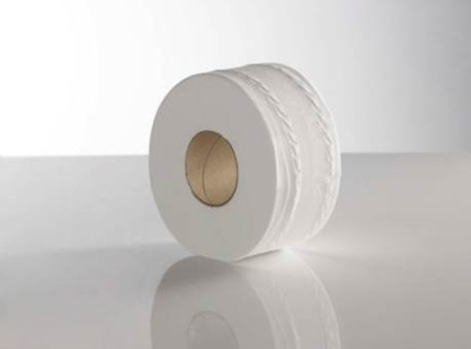 Mini Jumbo Toilet Roll (Pack of 12)