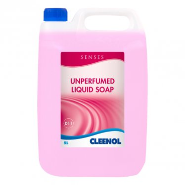 Senses Premium Unperfumed Liquid Hand Soap 5 Ltr