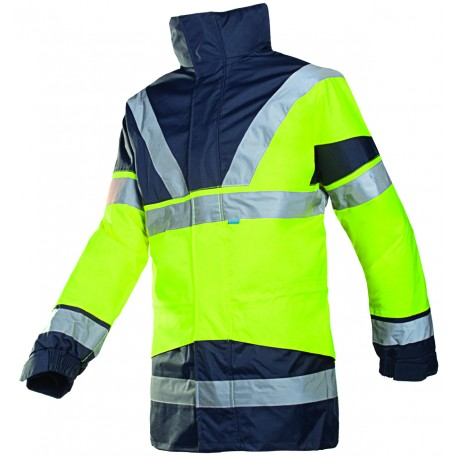 Sioen Skollfield Rain Jacket with Detachable Bodywarmer
