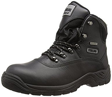 Sterling SS812SM Hiker Style S3 Black Safety Boot
