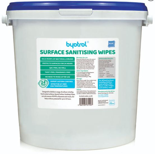 Byotrol Surface Sanitiser Wipes - 1500 Wipes per Bucket