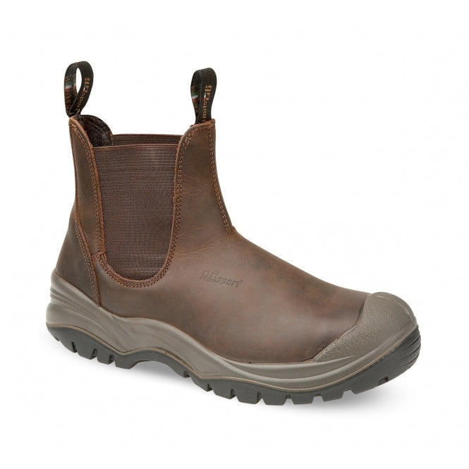 Grisport Chukka Slip On S3 Safety Boot Brown