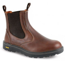 Load image into Gallery viewer, Grisport Crieff Slip On Boot Brown