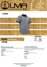 Load image into Gallery viewer, LMA Workwear Dalle Two Tone Polo