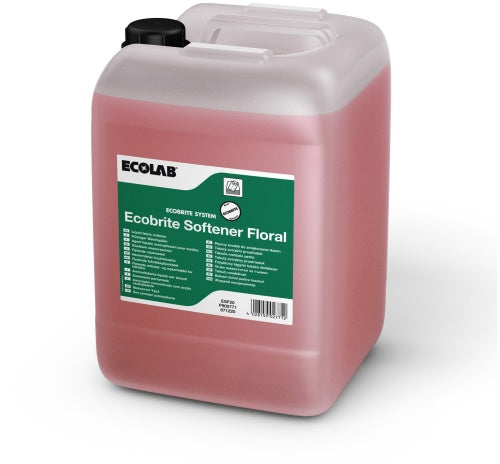 Ecolab Ecobrite Softner Floral Fabric Conditioner