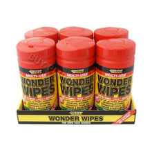 Load image into Gallery viewer, Everbuild Multi Use Wonder Wipes (Tube of 100 Wipes)