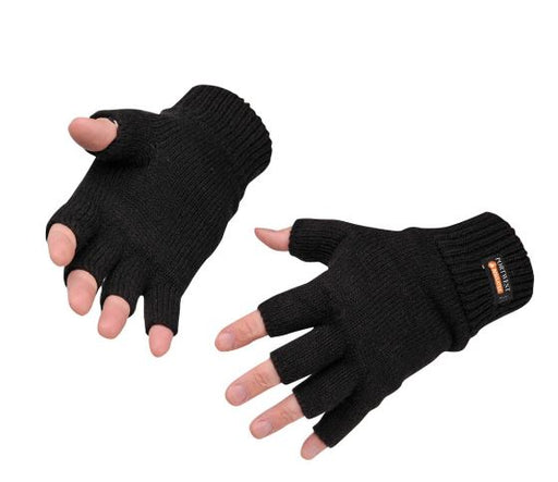 Portwest GL14 Thermal Fingerless Mitts