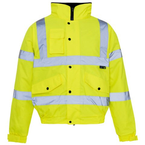 Supertouch High Visibility Storm Bomber Jacket