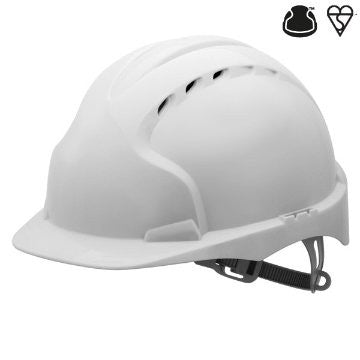 JSP EVO3 Slip Ratchet Vented Safety Helmet