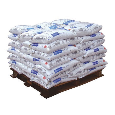 White High Quality Rock Salt 25kg Bags (Pallet of 42 Bags)