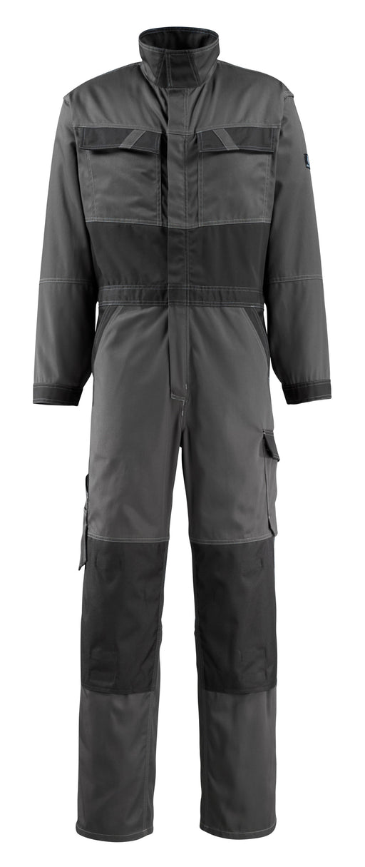 Mascot Wallan Boilersuit with Kneepad Pockets Dark Anthracite/Black