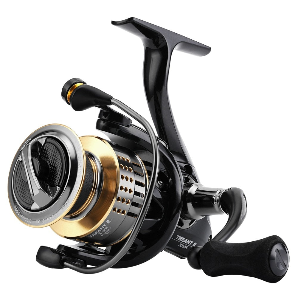 SeaKnight TREANT II Spinning Reel Carbon Fiber Drag 13KG Max Power Aluminum Spool Wheel 1000H 2000H 3000H 4000H Model Tackle