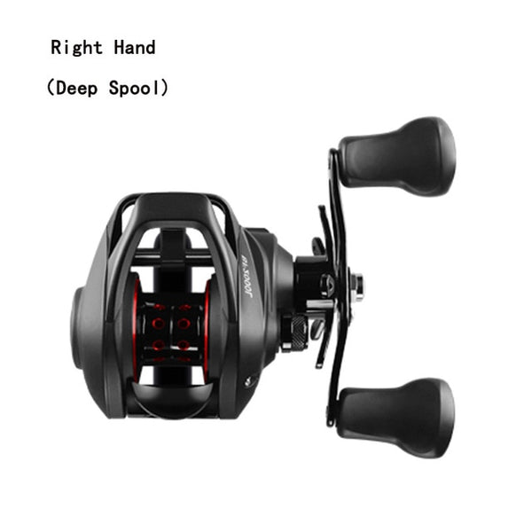 LINNHUE BF2000 Baitcasting Reel High Speed 7.2:1 Gear Ratio 12+1BB Fresh/Saltwater Magnetic Brake System Ultralight Fishing Reel