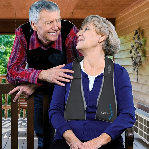 BACKPlus® PRO 3 in 1 Massager couple