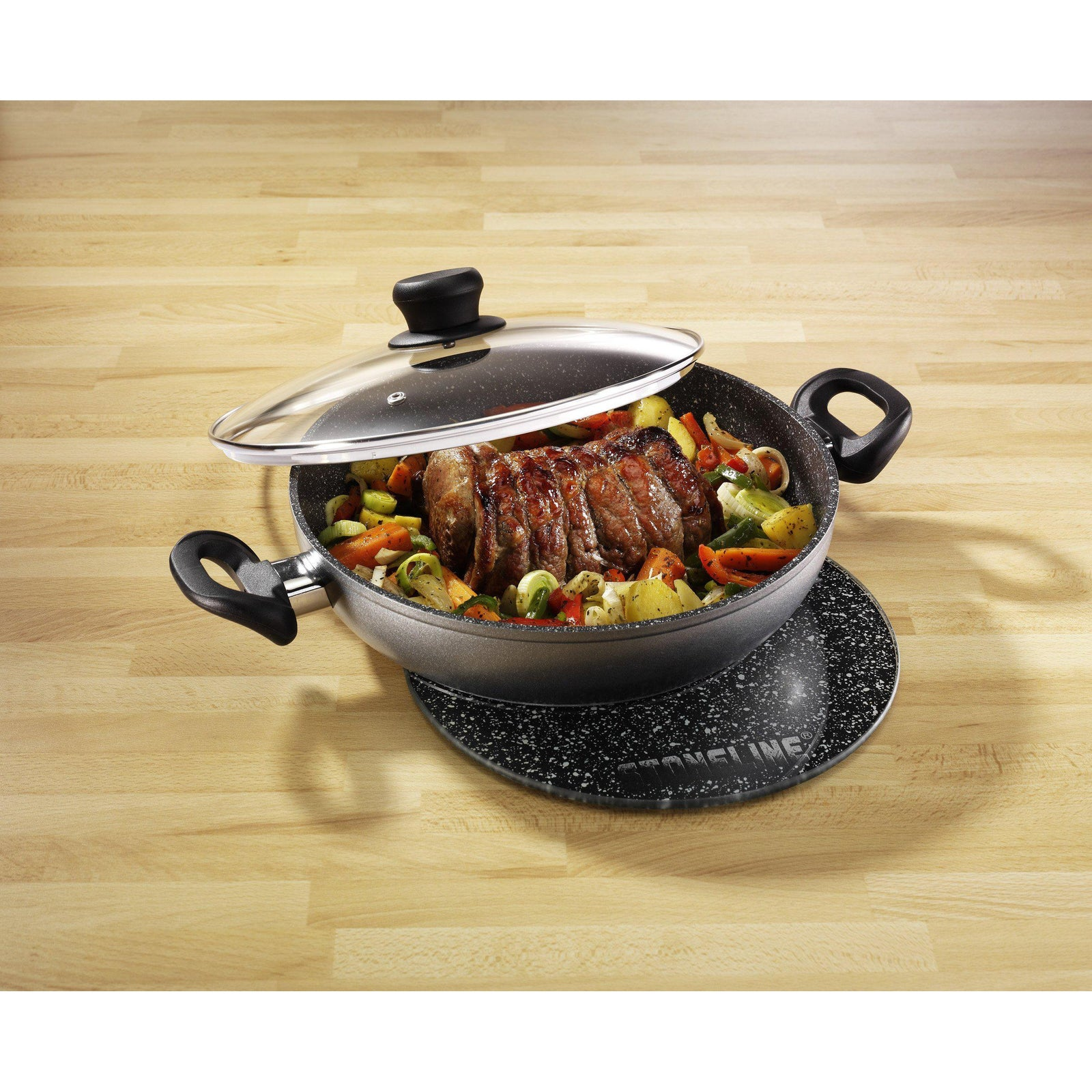 Stoneline® 28cm Serving Pan - portable heater