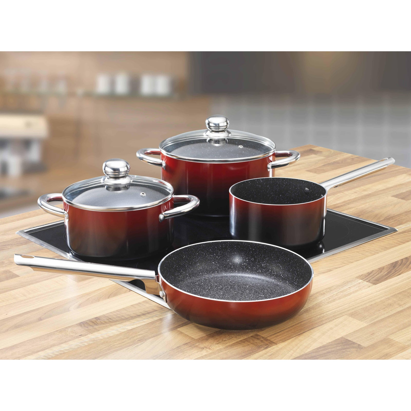 Stoneline® 6 Piece Set-Redfern.ent