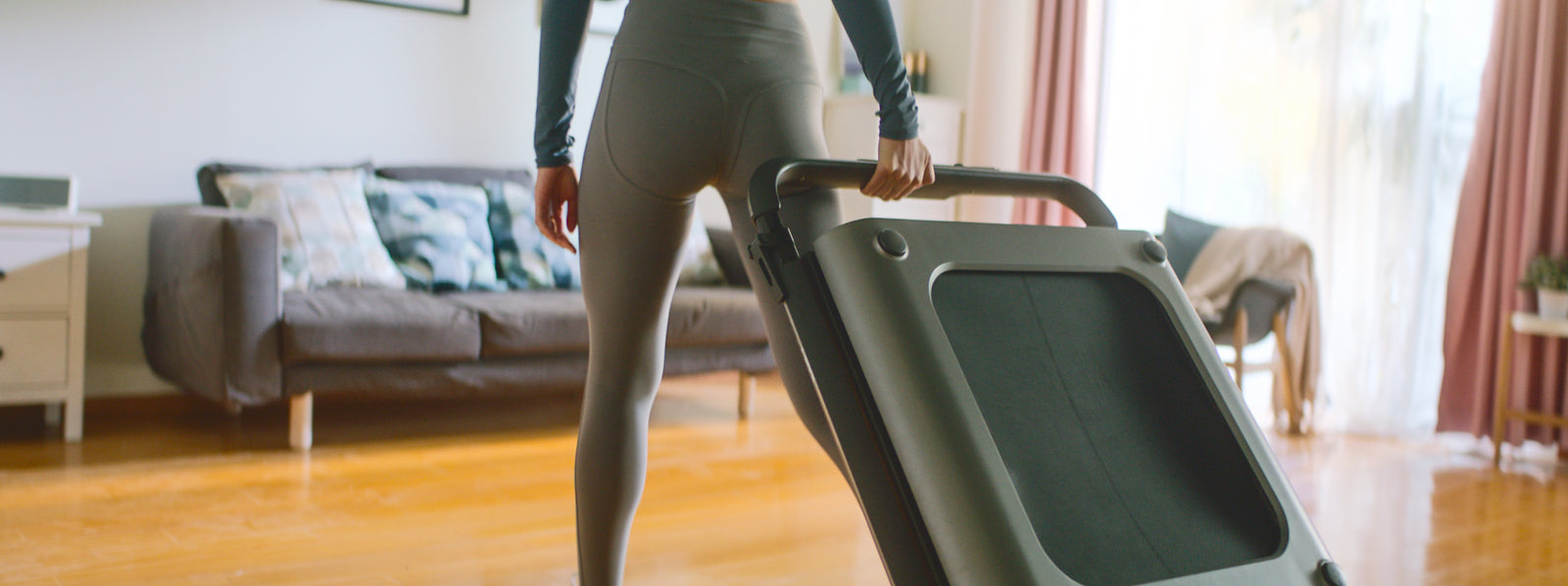 iQ Foldable Treadmill