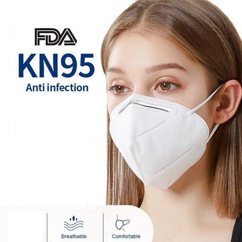 KN95 Disposable Mask (Pack of 5) Ships from Canada to Canada! ,KN95 Disposable Mask (Pack of 5) Ships from Canada to Canada!