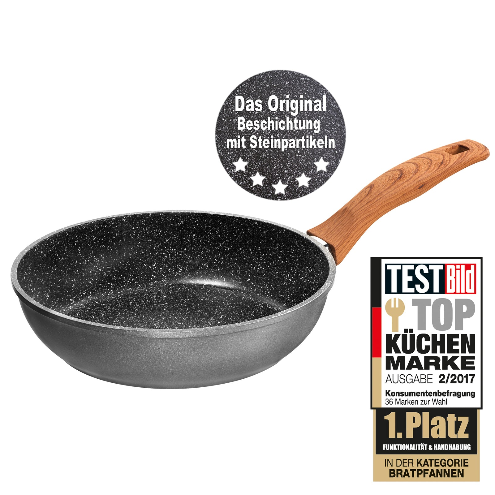 Stoneline® 24cm Deep Stewing Pan