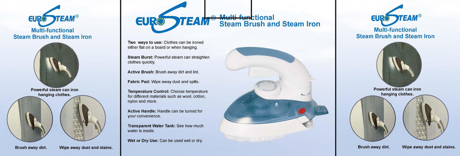 EuroSteam Multi Brush and Iron-Redfern.ent