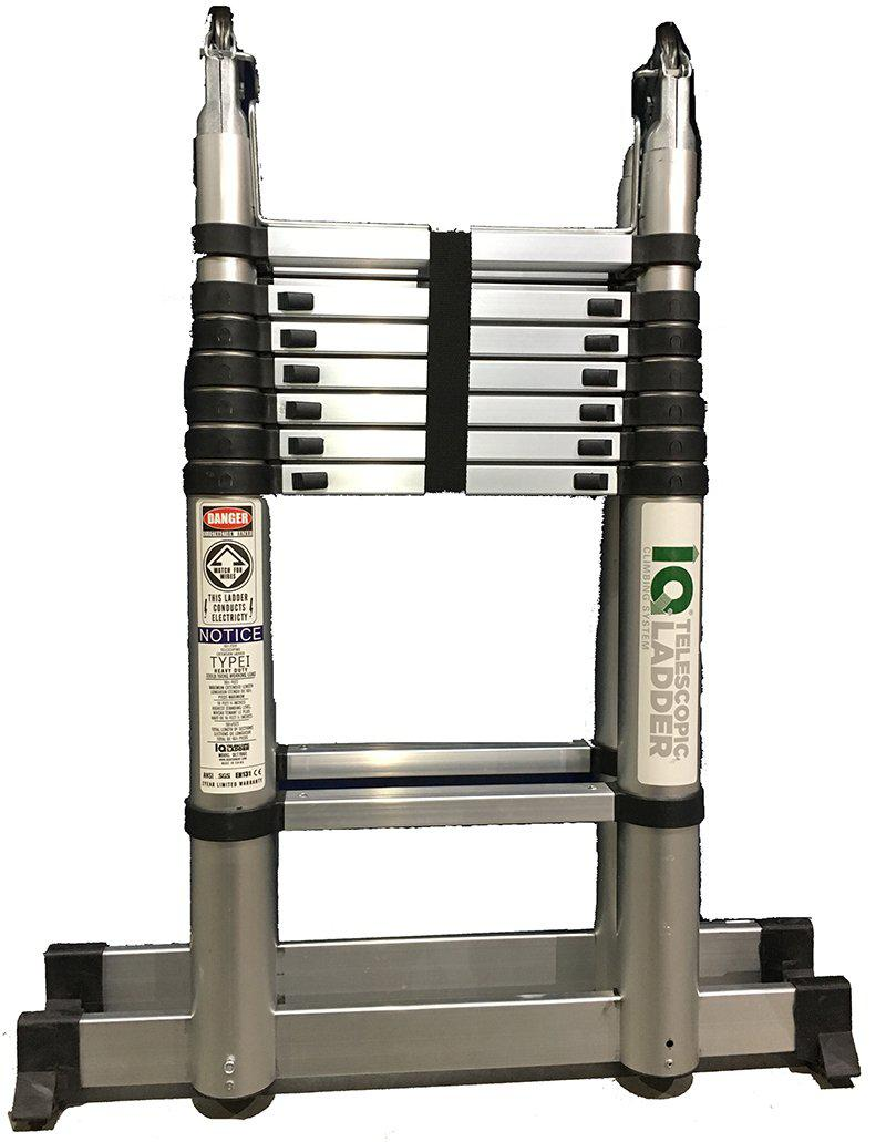iQ Ladder 8 FT Telescopic A Frame-Redfern.ent