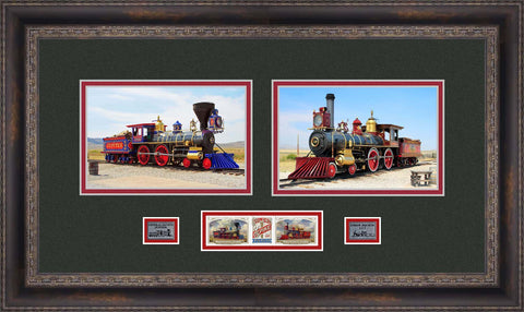 Transcontinental Railroad Stamp Collectible