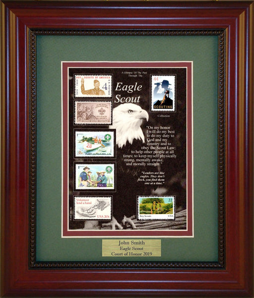 Eagle Scout - Personalized Unique Framed Gift